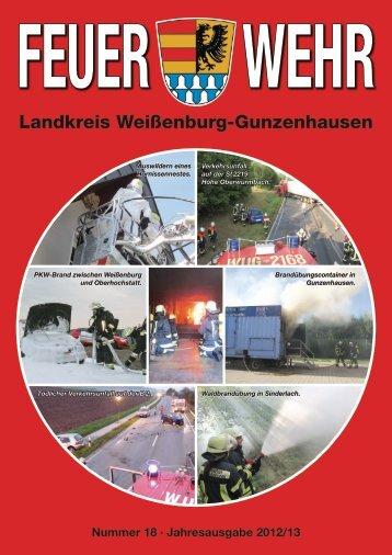 Landkreis Weißenburg-Gunzenhausen - Feuerwehr Gunzenhausen