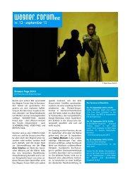 WFG Zeitung 2010 09 - wagner forum graz