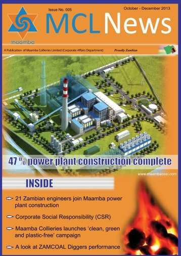 October 2013 (PDF) - Maamba Collieries Limited (MCL)