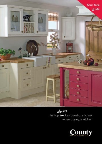 Free Kitchen Guide - County - The Home Improvers