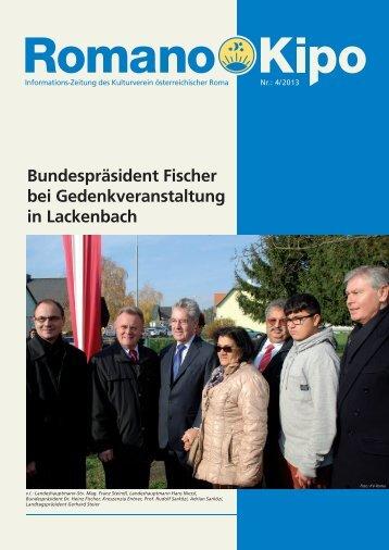 Aktuelle Ausgabe als pdf - Kulturverein Österreichischer Roma