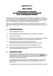 Merkblatt für Bewerberinnen und Bewerber des mittleren ...