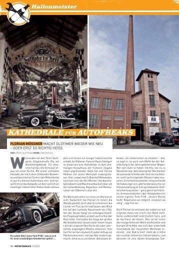 KatHedrale für autofreaKs - Mößner Fahrzeugbau