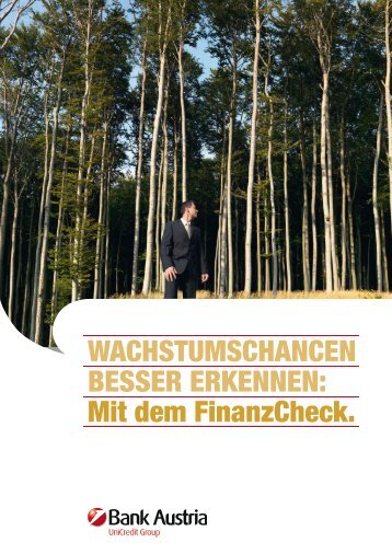 Details zum FinanzCheck