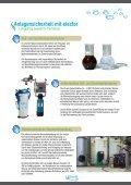 Wasserbehandlung für Nahwärmenetze zum ... - elector GmbH - Seite 3