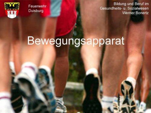 Bewegungsapparat - Bildung und Beratung für Gesundheits- u ...