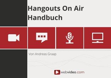 Hangouts on Air – Handbuch (pdf) - Webvideo.com