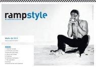 Media Kit 2013 - Ramp Magazin