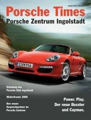 Erleben Sie neue Gefühle - Porsche Zentrum Olympiapark