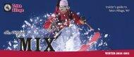 TETON VILLAGE MIX - Winter 2010-2011 - THE TETON VILLAGE MIX