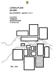 Lokalplan 03-009, Boligområde, Barken øst - Aalborg Kommune