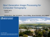 Next Generation Image Processing for Computed ... - CASIS