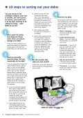 10 steps to sorting out your debt - Young Southampton - Page 2