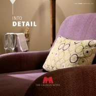 into detail - The Charles Hotel