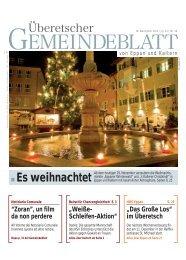 Es weihnachtet - Gemeindeblatt von Eppan und Kaltern