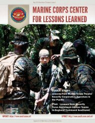 Draft MCCLL May 2013 Newsletter.indd - Marine Corps Center for ...