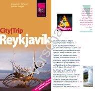 CITY TRIP Reykjavík - Reise Know-How