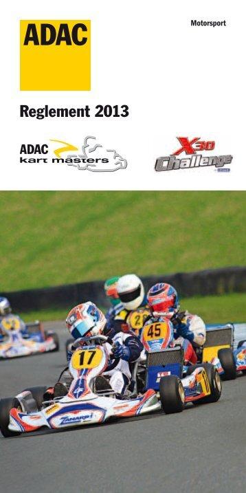 Reglement zum ADAC Kart Masters 2013 - MSC Eppelborn