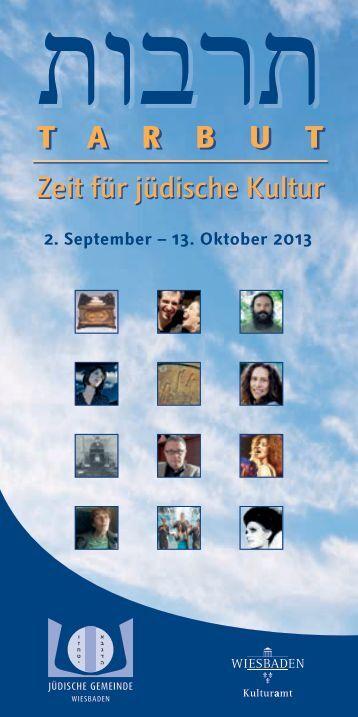 Programm - Jüdische Gemeinde Wiesbaden