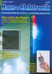 Bericht downloaden - LBM Lichtleit-Fasertechnik GmbH