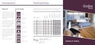 2013 Timba Underlay Brochure - Squarespace