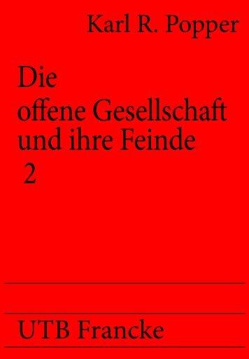 Popper, Karl R. - Die offene Gesellschaft ... 2.indd