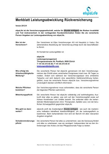 Musterfirma AG - elipsLife