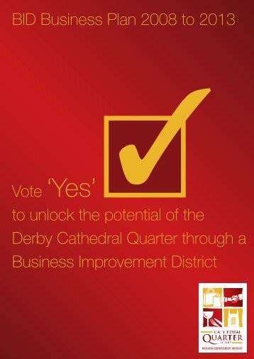 CQ Business Plan 2007-2012 - Derby Cathedral Quarter