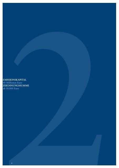 Verkaufsprospekt publity Performance Fonds Nr. 6