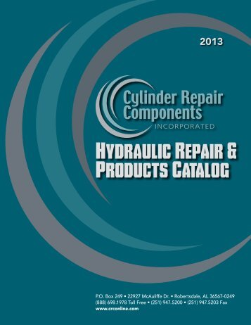 Onine Catalog - Cylinder Repair Components, Inc.