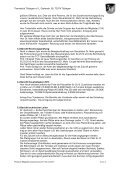 Protokoll der Mitgliederversammlung des - TC Tübingen - Page 2