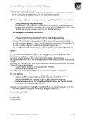 Protokoll der Mitgliederversammlung des - TC Tübingen - Page 4