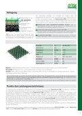 Gitter für befahrbare Bodenbeläge mit Rasenoberfläche - Seite 3