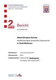 Bericht - Albert-Einstein-Schule Groß-Bieberau
