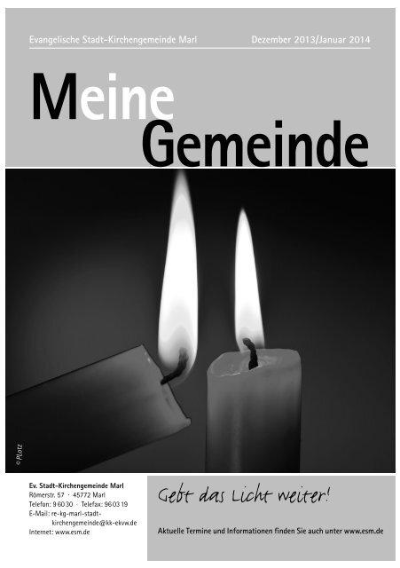 Dezember 2013 / Januar 2014 - Evangelische ...