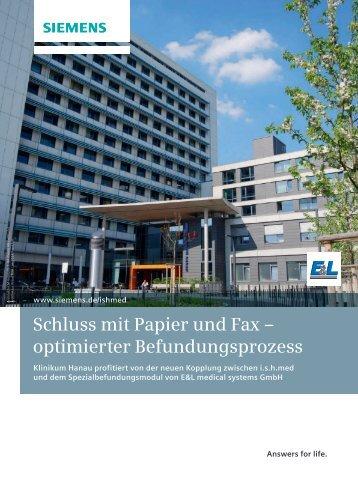 Artikel lesen 685kB - Siemens Healthcare - Siemens AG
