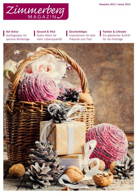 Ausgabe Dezember 2013 / Januar 2014 als PDF-Download