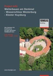 Project Info Weiterbauen am Denkmal - Wasserschloss Westerburg ...