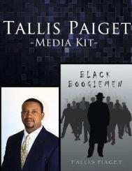 Media Kit Download - Tallis Piaget