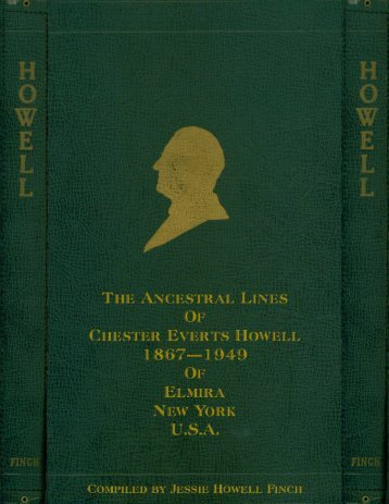 Ancestral Lines of Chester Everts Howell - (PDF ... - Adkinshorton.net