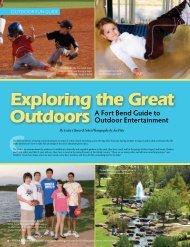 Exploring the Great Outdoors - Sugar Land Magazine