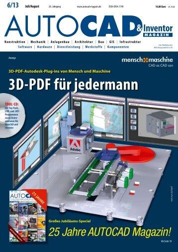 3D-PDF für jedermann - AUTOCAD Magazin
