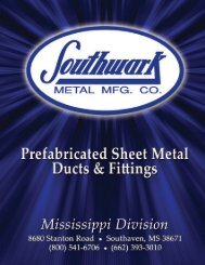 product table of contents - Southwark Metal