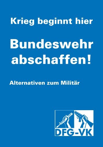 DFG-VK Kiel - Initiative Bundeswehr abschaffen