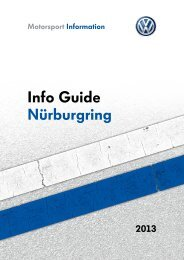 Info Guide Nürburgring - Motorsport News