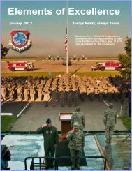 Elements of Excellence - 139th Airlift Wing, Missouri Air National ...