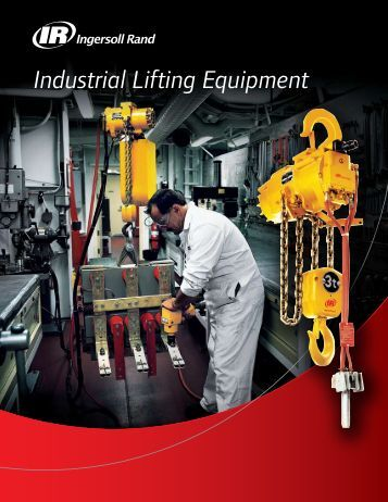 Industrial Lifting Equipment - Ingersoll Rand