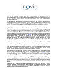 Dear Investor, Thank you for requesting information ... - PrecisionIR