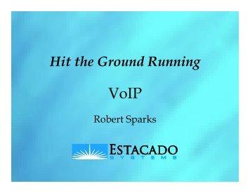 Hit the Ground Running - Usenix