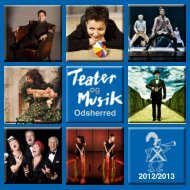 Download vores program - Teater og Musik Odsherred